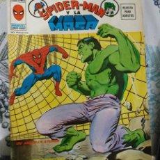 Cómics: SPIDERMAN Y LA MASA VERTICE 1974 SERIE SUPER HEROES V2-N.º 13. Lote 221311530