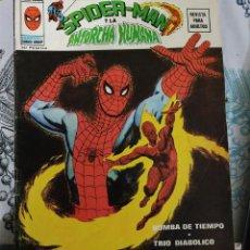 Cómics: SPIDERMAN Y LA ANTORCHA HUMANA VERTICE 1974 SERIE SUPER HEROES V2-N.º 9. Lote 221311681