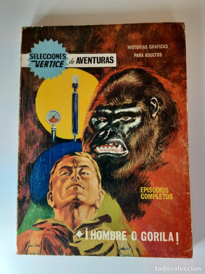SELECCIONES VERTICE (1968, VERTICE) 14 · 1968 · ¡HOMBRE O GORILA! (Tebeos y Comics - Vértice - Otros)