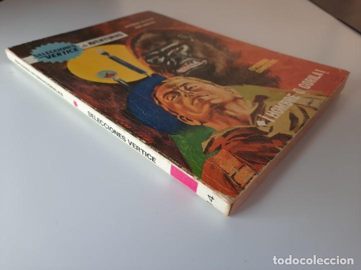 Cómics: SELECCIONES VERTICE (1968, VERTICE) 14 · 1968 · ¡HOMBRE O GORILA! - Foto 2 - 273398863