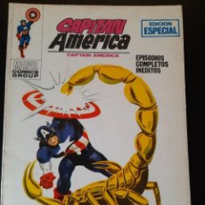 Cómics: CAPITAN AMERICA (1969, VERTICE) 9 · VI-1970 · LA PICADURA DE ESCORPION *** EXCELENTE ****. Lote 221434682