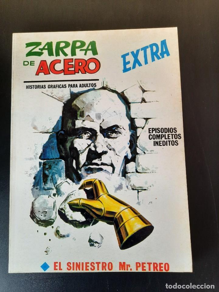 ZARPA DE ACERO (1966, VERTICE) -EXTRA- 29 · 1970 · EL SINIESTRO MR. PETREO *** EXCELENTE**** (Tebeos y Comics - Vértice - Otros)