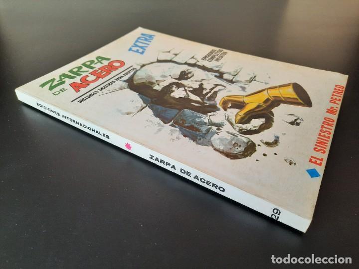 Cómics: ZARPA DE ACERO (1966, VERTICE) -EXTRA- 29 · 1970 · EL SINIESTRO MR. PETREO *** EXCELENTE**** - Foto 3 - 221437608