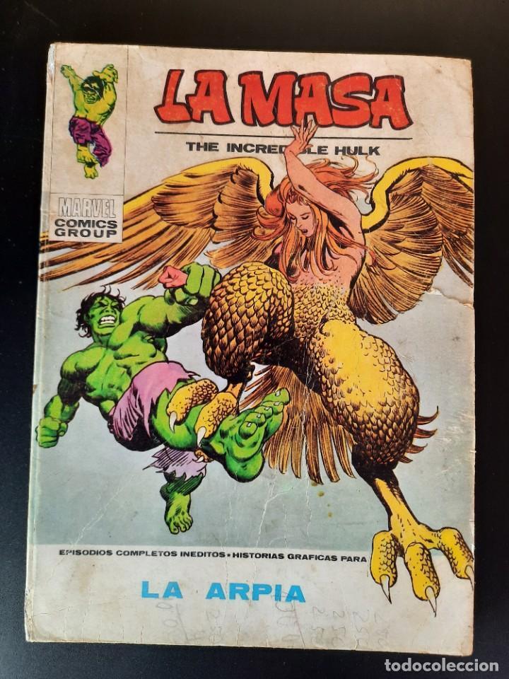 HULK (1970, VERTICE) -LA MASA- 33 · 1973 · LA ARPIA (Tebeos y Comics - Vértice - La Masa)