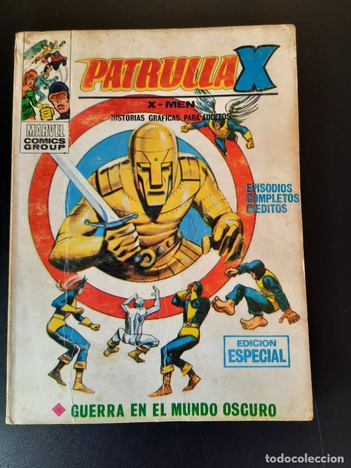 PATRULLA X (1969, VERTICE) 15 · IX-1970 · GUERRA EN EL MUNDO OSCURO (Tebeos y Comics - Vértice - Patrulla X)