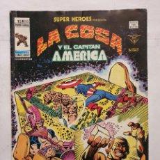 Cómics: SUPER HEROES VOL. 2 # 103 (VERTICE) - LA COSA Y EL CAPITAN AMERICA - 1979. Lote 221516997
