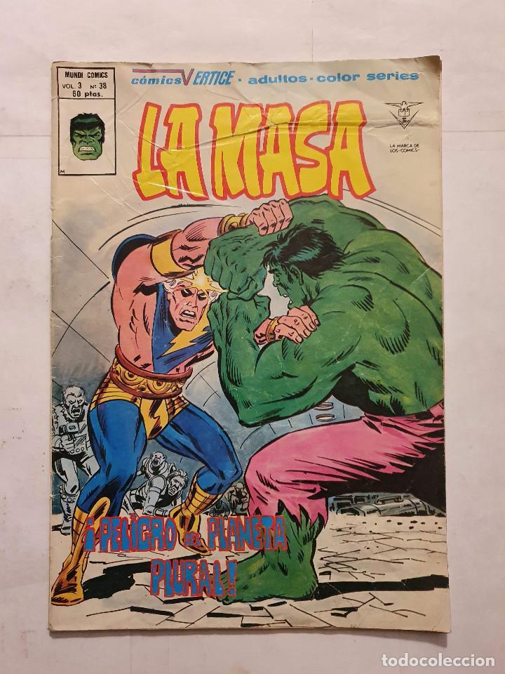 LA MASA VOL. 1 # 38 (VERTICE) - 1980 (Tebeos y Comics - Vértice - La Masa)