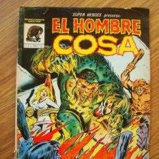 Cómics: SUPER HEROES PRESENTA Nº 4 EL HOMBRE COSA (MUNDI COMICS) VÉRTICE. Lote 221563967