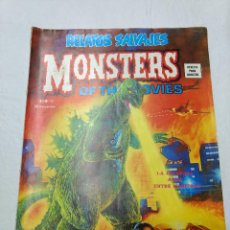Cómics: RELATOS SALVAJES NUMERO 11. MONSTERS OF THE MOVIES ORIGINAL VERTICE AÑOS 70. Lote 221611502