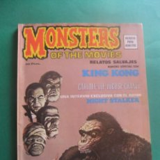 Cómics: RELATOS SALVAJES NUMERO ESPECIAL MONSTERS OF THE MOVIES VERTICE. Lote 221646555