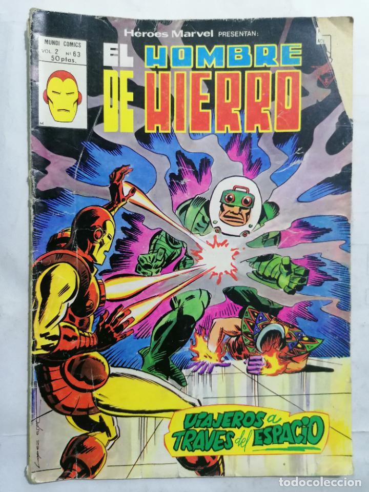 EL HOMBRE DE HIERRO - MUNDI COMICS VOL 2 Nº 63 (Tebeos y Comics - Vértice - Hombre de Hierro)