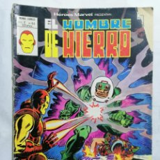 Cómics: EL HOMBRE DE HIERRO - MUNDI COMICS VOL 2 Nº 63. Lote 221653823