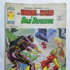 Cómics: EL HOMBRE DE HIERRO Y DAN DEFENSOR - MUNDI COMICS VOL 2 Nº 27. Lote 221654205