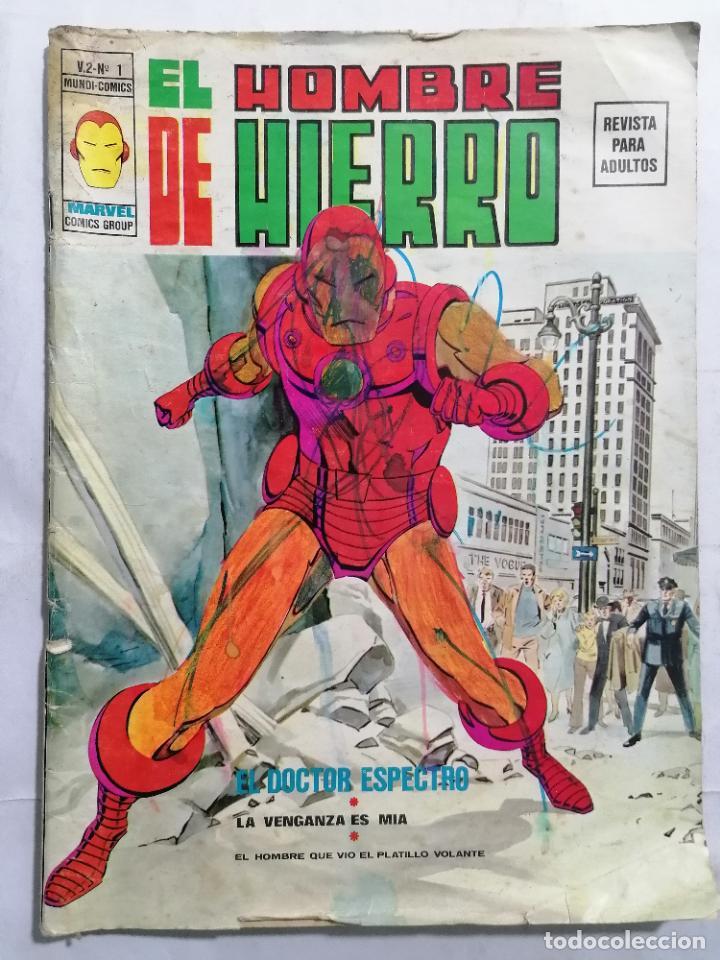 EL HOMBRE DE HIERRO - MUNDI COMICS VOL 2 Nº 1 (Tebeos y Comics - Vértice - Hombre de Hierro)