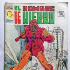 Cómics: EL HOMBRE DE HIERRO - MUNDI COMICS VOL 2 Nº 1. Lote 221654681