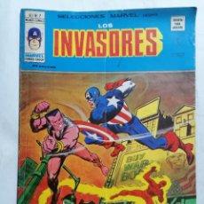 Cómics: LOS INVASORES, VOL 1, Nº 7, MUNDI-COMICS. Lote 221659178
