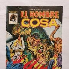 Cómics: SUPER HEROES # 4 (MUNDICOMICS - VERTICE) - EL HOMBRE COSA - 1982. Lote 221693051
