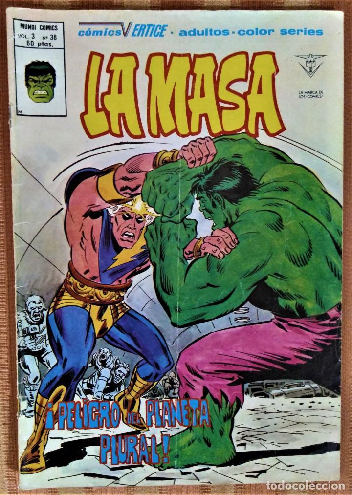 LA MASA - VOLUMEN 3 - Nº 38 - ¡PELIGRO DEL PLANETA PLURAL! (Tebeos y Comics - Vértice - La Masa)