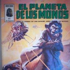 Cómics: EL PLANETA DE LOS MONOS. NUM 5. MUNDI-COMICS. VERTICE. Lote 221740856