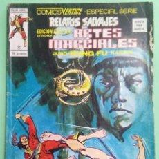 Cómics: RELATOS SALVAJES- ARTES MARCIALES VOL. 1 Nº 43 - MUNDI COMIC -VERTICE -JU. Lote 221749221