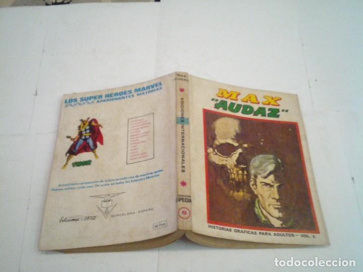 Cómics: MAX AUDAZ - VOLUMEN 6 - EDICION ESPECIAL - VERTICE - BUEN ESTADO - GORBAUD - CJ 96 - Foto 6 - 221750933