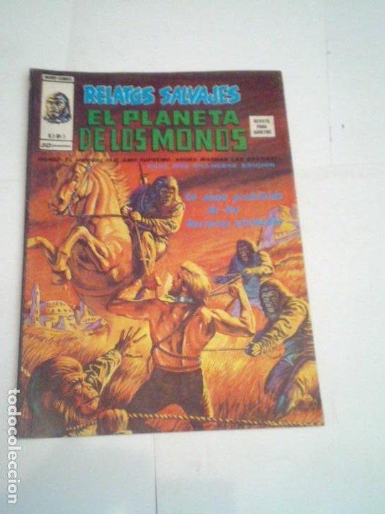 RELATOS SALVAJES - EL PLANETA DE LOS MONOS - NUMERO 3 - VOLUMEN 2- VERTICE - BUEN ESTADO - CJ 96 (Tebeos y Comics - Vértice - Relatos Salvajes)
