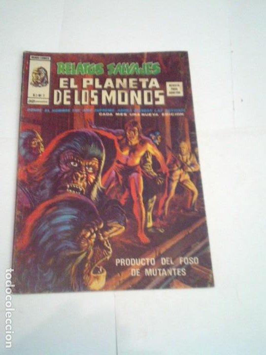 RELATOS SALVAJES - EL PLANETA DE LOS MONOS - NUMERO 2 - VOLUMEN 2- VERTICE - CJ 96 (Tebeos y Comics - Vértice - Relatos Salvajes)