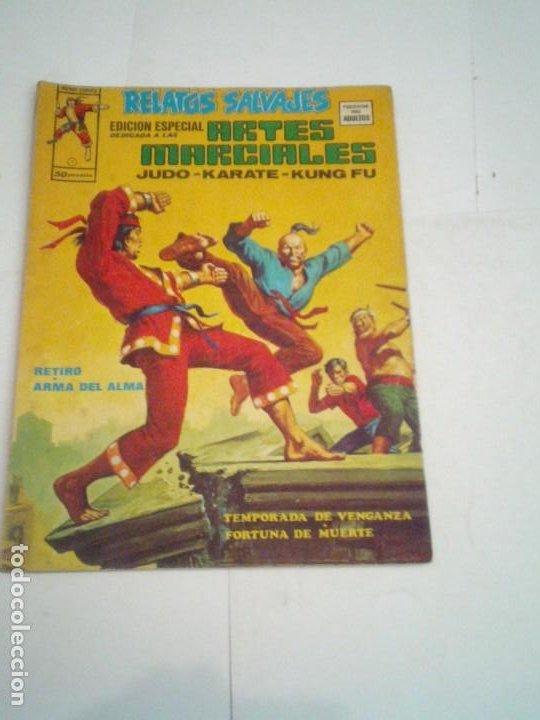 RELATOS SALVAJES - ARTES MARCIALES - NUMERO 3 - VOLUMEN 2- VERTICE - CJ 96 (Tebeos y Comics - Vértice - Relatos Salvajes)