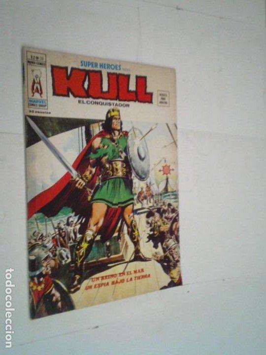 SUPER HEROES - KULL - NUMERO 20 - VOLUMEN 2- VERTICE - GORBAUD - CJ 96 (Tebeos y Comics - Vértice - Relatos Salvajes)