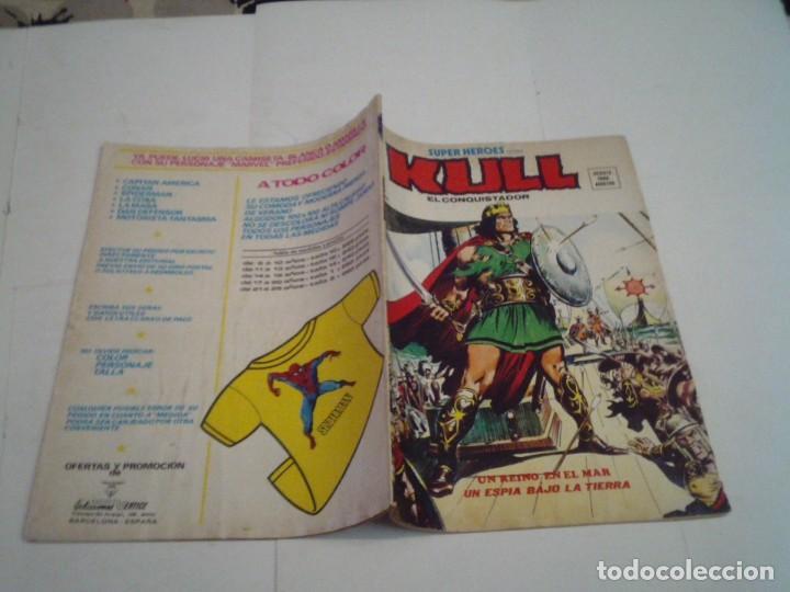 Cómics: SUPER HEROES - KULL - NUMERO 20 - VOLUMEN 2- VERTICE - GORBAUD - CJ 96 - Foto 5 - 221753178