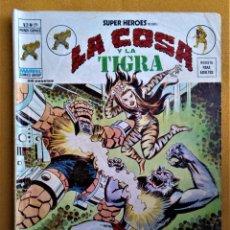 Cómics: SUPER HEROES - LA COSA Y LA TIGRA - V.2 - Nº59 - ¡GARRAS DE JAGUAR!. Lote 221787346