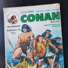 Cómics: TEBEO / CÓMIC CONAN THE BARBARIAN N 1 VÉRTICE 1980 MUNDI CÓMICS. Lote 221928285