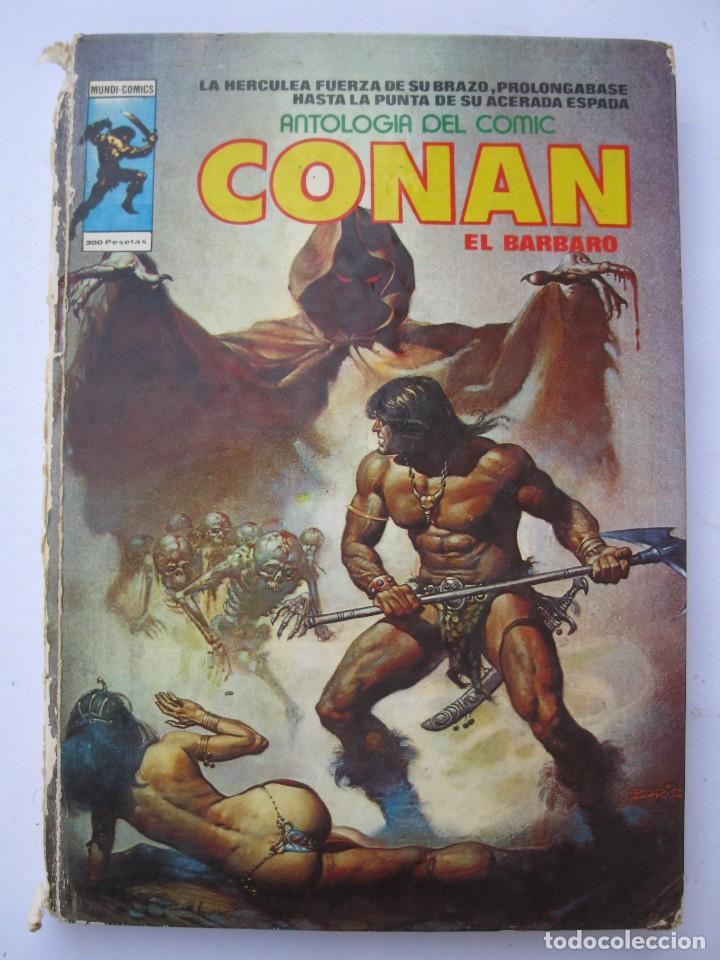ANTOLOGÍA DEL CÓMIC - Nº 5 - CONAN EL BÁRBARO - MUNDI-COMICS - EDICIONES VÉRTICE - AÑO 1977. (Tebeos y Comics - Vértice - Conan)