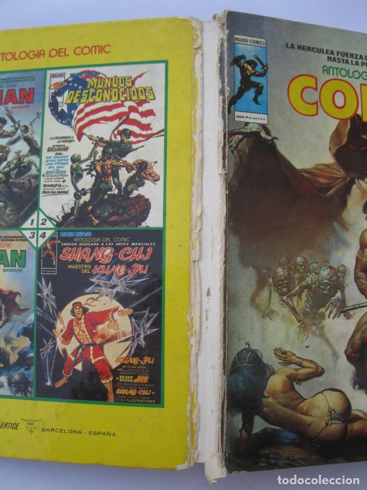 Cómics: ANTOLOGÍA DEL CÓMIC - Nº 5 - CONAN EL BÁRBARO - MUNDI-COMICS - EDICIONES VÉRTICE - AÑO 1977. - Foto 4 - 221935527