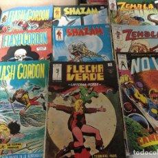 Cómics: LOTE 9 COMICS VERTICE SUPER HEROES ORIGINALES AÑOS 70-80. Lote 221963291