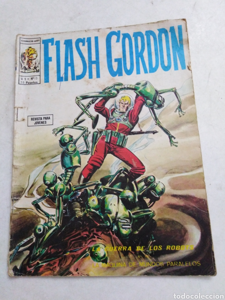 Cómics: Lote de 10 cómic Flash Gordon - Foto 8 - 221965868