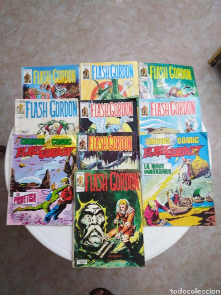 LOTE DE 10 CÓMIC FLASH GORDON (Tebeos y Comics - Vértice - Flash Gordon)