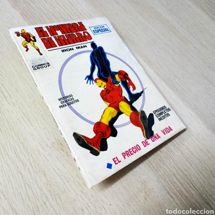 MUY BUEN ESTADO EL HOMBRE DE HIERRO 8 TACO VERTICE (Tebeos y Comics - Vértice - Hombre de Hierro)
