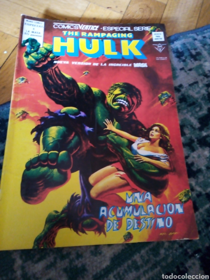 Cómics: The rampaging Hulk núm 8. Vértice - Foto 1 - 222028031