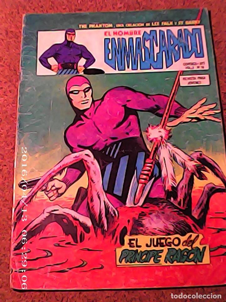 COMIC EL HOMBRE ENMASCARADO EN EL JUEGO DEL PRINCIPE RAGON VOL. 2 Nº 16 (Tebeos y Comics - Vértice - Hombre Enmascarado)