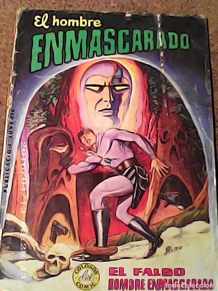 COMIC EL HOMBRE ENMASCARADO EN EL FALSO HOMBRE ENMASCARADO DEL AÑO 1980 Nº 4 (Tebeos y Comics - Vértice - Hombre Enmascarado)
