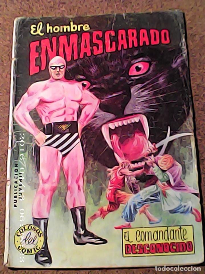 COMIC EL HOMBRE ENMASCARADO EN EL COMANDANTE DESCONOCIDO DEL AÑO 1981 Nº 38 (Tebeos y Comics - Vértice - Hombre Enmascarado)