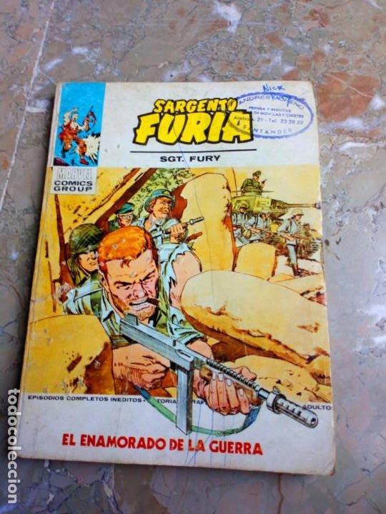 SARGENTO FURIA VOL.1 Nº 23 (Tebeos y Comics - Vértice - Furia)
