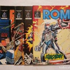 Cómics: ROM VOL. 1 # 1-4 (MUNDICOMICS - VERTICE) - COMPLETO - 1981. Lote 222088122