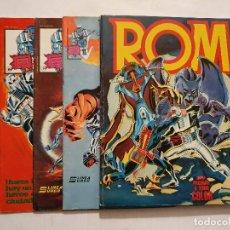 Cómics: ROM VOL. 1 # 1-8 (SURCO) - RETAPADO # 1-5 / TEBEOS GRAPA # 6, 7, 8 - COMPLETA - 1983. Lote 222088307