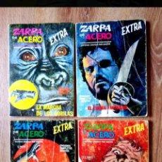 Cómics: ZARPA DE ACERO N°5, N°22, N°23, N°25 VÉRTICE. Lote 222091471