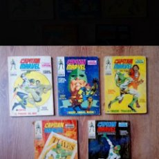 Cómics: CAPITÁN MARVEL N°2, N°3, N°4, N°5, N°6 VERTICE. Lote 222091737