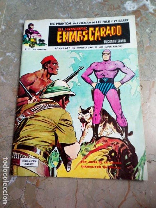 EL HOMBRE ENMASCARADO VOL. 1 Nº 27 VERTICE (Tebeos y Comics - Vértice - Hombre Enmascarado)