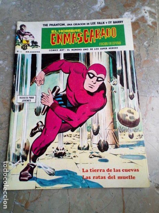 EL HOMBRE ENMASCARADO VOL. 1 Nº 23 VERTICE (Tebeos y Comics - Vértice - Hombre Enmascarado)