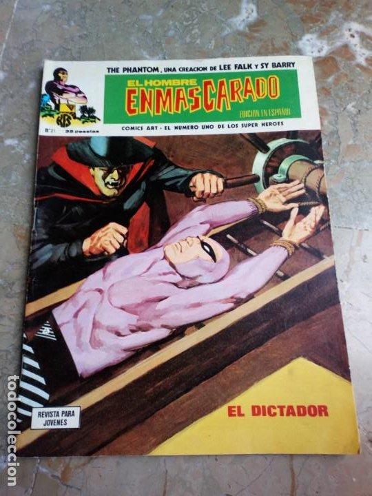 EL HOMBRE ENMASCARADO VOL. 1 Nº 21 VERTICE (Tebeos y Comics - Vértice - Hombre Enmascarado)